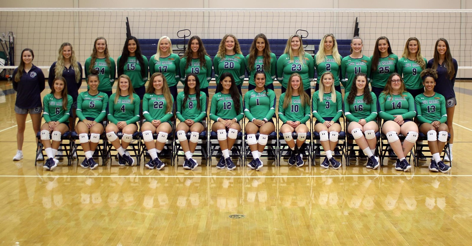 2019 Volleyball Roster Ave Maria University Athletics